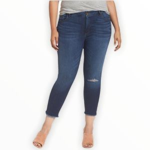 Kut From The Kloth Donna Crop Skinny Jeans Size 14